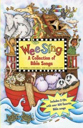 Wee Sing Bible Songs Book and CD Collection: A CBD Exclusive (2 books and 2 CDs)