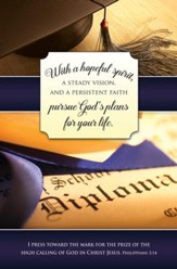 With a Hopeful Spirit (Philippians 3:14, KJV) Bulletins, 100