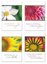 Wonderfully Made (NIV) Box of 12 Birthday Cards
