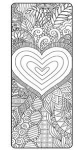 God So Loved (John 3:16) Coloring Bookmarks, Pack of 25