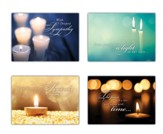 A Light for Tomorrow (KJV) Box of 12 Sympathy Cards