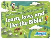 Operation Arctic VBS: Postcard - Praying for You (pack of 40)