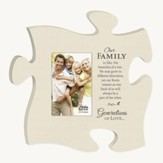 Our Family, Puzzle Photo Frame