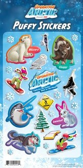 Operation Arctic VBS: Puffy Stickers (1 Sheet)