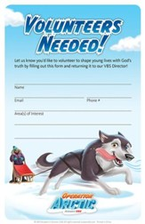 Operation Arctic VBS: Volunteer Recruitment Flyers (pack of 20)
