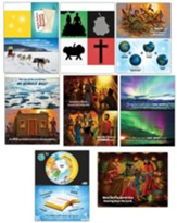 Operation Arctic VBS: Pre-Primary Illustration Posters (set of 8)