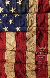 United We Stand Flag (Philippians 2:1-2, NIV) Bulletins, 100