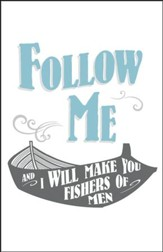 Fishers of Men Boat Artwork (Matthew 4:19, KJV) Bulletins, 100
