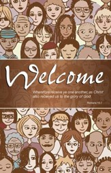 Welcome Crowd (Romans 15:7, KJV) Bulletins, Pack of 50