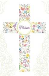 Easter Cross Alleluia! Bulletins, Pack of 50