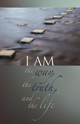 The Way, the Truth, and the Life Path of Rocks (John 14:6) Bulletins, Pack of 50