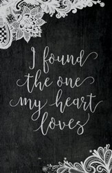 The One my Heart Loves Chalk Art (Song of Songs 3:4, NIV) Bulletins, Pack of 50