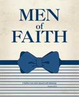 Men of Faith Bow Tie Art (Proverbs 28:20, KJV) Large Bulletins, 100
