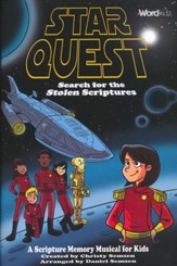 Star Quest: Search for the Stolen Scriptures (Choral Book)