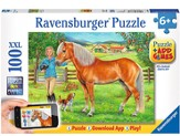 My Favorite Horse, 100 Piece Puzzle and App Game