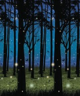Twilight Forest Plastic Backdrop (4 ft. x 30 ft.)