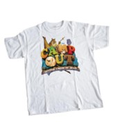 Camp Out Theme T-Shirt, Child Medium (10-12)