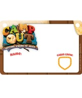 Camp Out Name Badges (Package of 10)