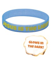 Jesus is the Light Wristbands (pkg. of 10)