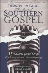 Ready to Sing: The Best of Southern Gospel (Choral Book)
