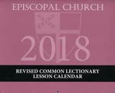 2018 Episcopal Lesson Calendar - 13 months: December 2017 through December 2018