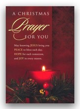 Christmas Prayer, Box of 12 Christmas Cards (KJV)