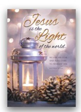 Jesus Is the Light, Box of 12 Christmas Cards (NIV)
