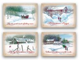 Country Christmas, Box of 12 Christmas Cards (KJV)