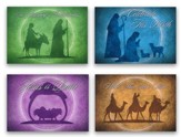 Celebrate His Birth, Box of 12 Christmas Cards (KJV)
