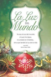 La Luz del Mundo (Juan 8:12, RVR 1960) Boletines, 100 (The Light of the Word Bulletins, 100)