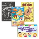 Thanks for Visiting Kids Value Pack Postcards, 100