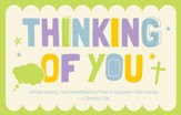 Thinking of You (2 Timothy 1:3b, KJV) Postcards, 25