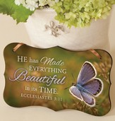 He Has Made Everything Beautiful Mounted Print Plaque