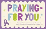 Praying for You (Philippians 1:3-4, KJV) Postcards, 25