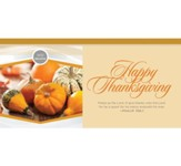 We Believe Happy Thanksgiving (Psalm 106:1 KJV) Offering Envelopes, 100