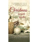 Christmas Shines Its Miracle (Matthew 28:17) Offering Envelopes, 100
