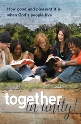 Together in Unity! (Psalm 133:1, NIV) Bulletins, 100
