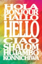 Hello (Philemon 3) Postcards, Pack of 25