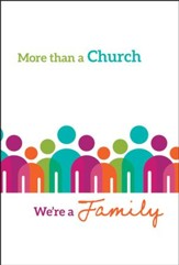 More Than a Church (1 John 1:3) Pack of 12 Folders