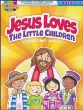 Jesus Loves Little Children Coloring Book--Ages 2 to 4