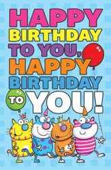 Happy Birthday To You (James 1:17) Postcards, Pack of 25
