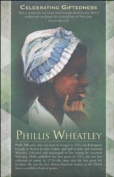 Phillis Wheatley (Galatians 3:28) Bulletins, 100