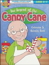 Candy Cane Coloring & Activity Book--Ages 5 to 7