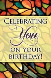 Celebrating You (1 Thessalonianss 1:2) Postcards, Pack of 25