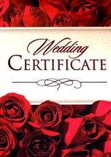 Wedding Folded Certificates (1 Thessalonians 3:12) Pack of 6
