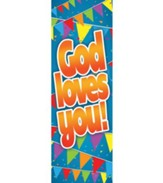 God Loves You! (1 John 3:1, NIV) Bookmarks, Pack of 25