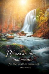 Blessed Are They That mourn (Matthew 5:4) Bulletins, 100