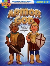 Armor of God Coloring & Cut Out Activity Book--Ages 5 to 7