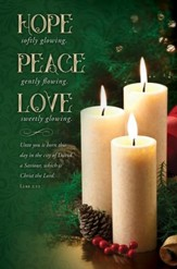 Hope, Peace, Love (Luke 2:11)
