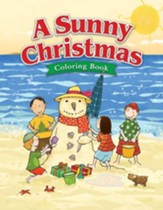 A Sunny Christmas Coloring Book--Ages 5 to 7